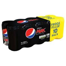 10 pack Pepsi cans only £2 in Iceland