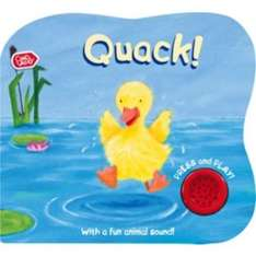 Chad Valley Sounds Book - Quack CLEARANCE 79P! @ Argos