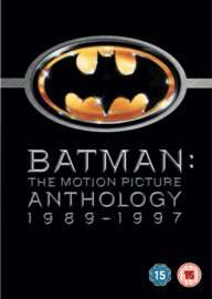 Batman the Motion Picture Anthology (4 x 2-disc special edition DVDs) only £4.00 delivered @ GAME