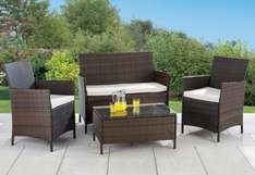4-Piece All-Weather Rattan-Effect Set for your garden was 499.99