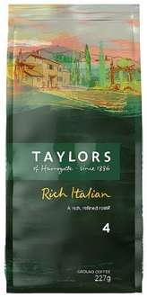 Taylors of Harrogate Italian ground coffee (6 bags) £10.44