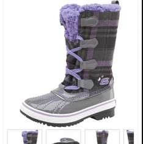Girls sketchers boots - £16.99 @ M&M Direct (£3.99 P&P)
