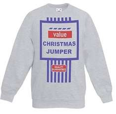 Mens jumper, a great value price, even has a famous logo slogan on the front, Just £14.99 and free returns too. @ amazon