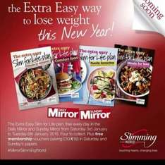 Free slimming world membership in this weeks daily mirror/Sunday mirror
