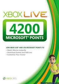 4200 Microsoft Points (Worth £35.98) @ 365games only £24.99