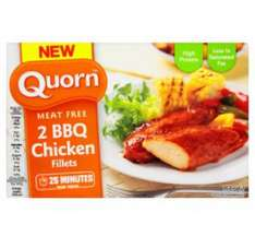 Quorn steak style strips and BBQ chicken style fillets 98p at Asda online