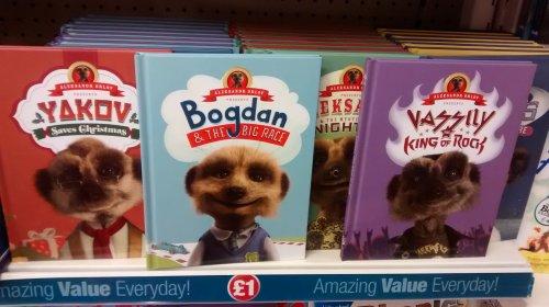 Meerkat books for £1 at Poundland. :)