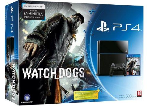 Sony PlayStation 4 + Watch Dogs £299.84 @ Amazon