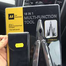 18 in 1 multi-function tool £1.50 @ Untouchables instore