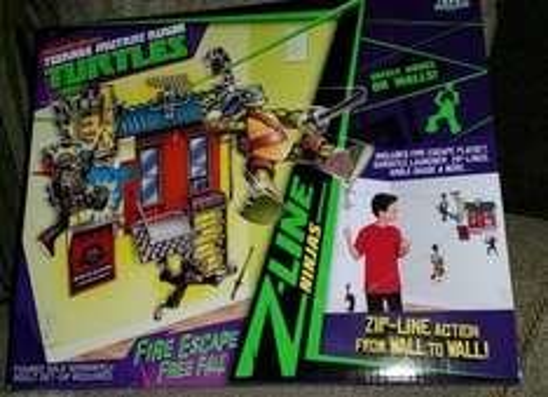 TMNT Zip line play set £4.25 @ Asda