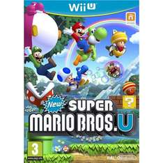 New Super Mario Bros Wii U £15.95 Delivered @ Play.com (Gamecollection)