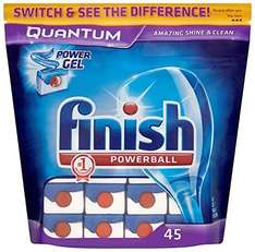 Finish Quantum (45 Tablets) £8 (Add-on Item) £8.00  (Add-on item Free Del £10 order)  @ Amazon
