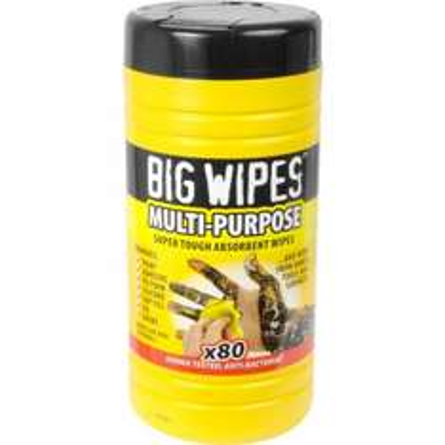 Big Wipes x 80 £4.99 at Halfords