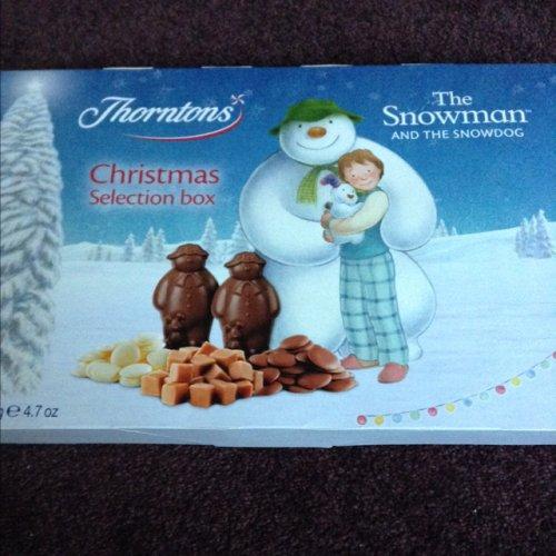 Thorntons Christmas selection box 75p at Asda