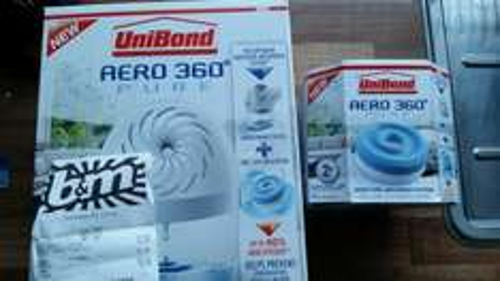 Unibond Aero 360 Pure £7.99 and refills £3.99 @ B&M