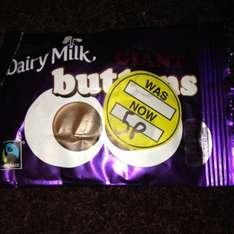 Dairy milk giant buttons 40g 5p @ Superdrug