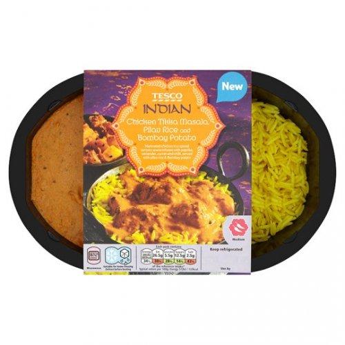 Chicken Tandoori, Rice *AND* Bombay Potato £1.65 @ Tesco