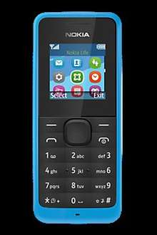 Nokia 105 Free on PAYG at Carphone Warehouse + £20 top up