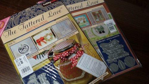 Tattered lace magazine £5.00 instore at Hobbycraft