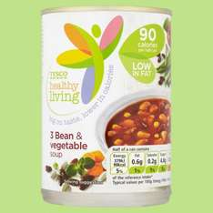 Tesco (online  and instore) Healthy Living soups 400g 36p instead of 63p! @ Tesco