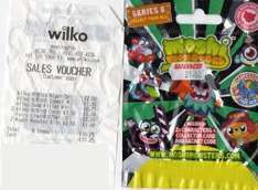 Moshi Monsters Pack of 2 Scanning at 50p @ Wilko