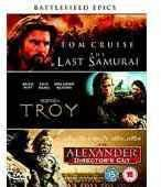 Battlefield Epics - The Last Samurai/Troy/Alexander (DVD) £3.49 delivered @ wowhd.co.uk