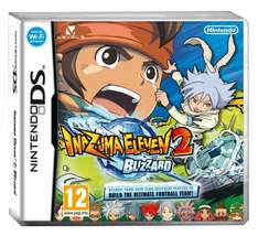Inazuma Eleven 2: Blizzard (Nintendo DS) only £2.86 @ Amazon (prime / £10 spend)
