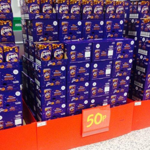 Cadbury eclair classics box. 50p @ Asda.