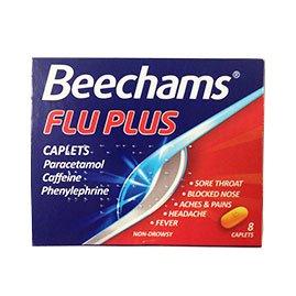 beechams flu plus 8 capsules 99p @ 99 p store