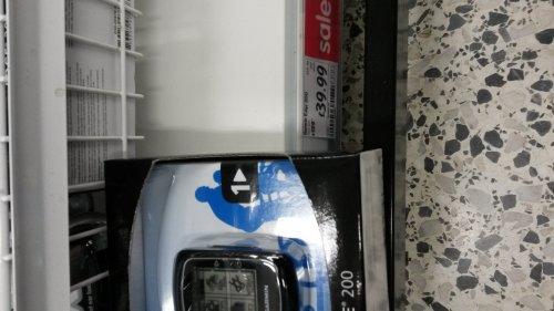 Garmin edge 200 cycle GPS £39 from £129 instore @ ASDA
