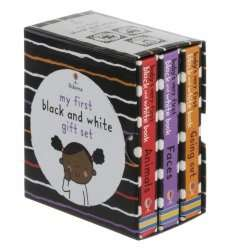 My First Black and White 3 Book Box Set £2.49 with free delivery to local store @ WH Smith