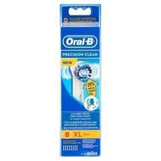 ASDA- Oral-B Precision Clean Toothbrush Replacement Heads 8 £15 @ Asda