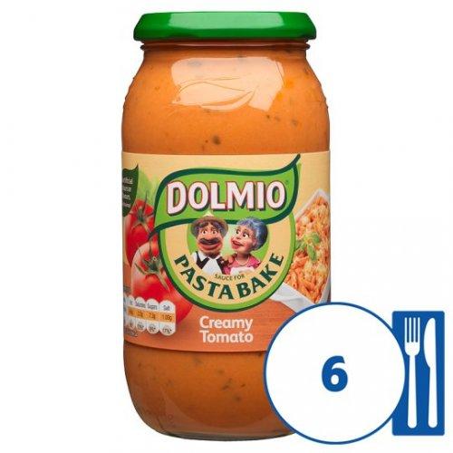 Dolmio (500g) Pasta Bake and Lasagne Sauces half price at Tesco (87p/90p)