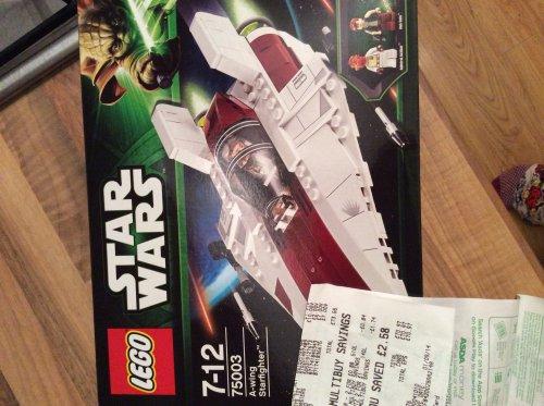 Lego Star Wars A-Wing Starfighter £8 @ Asda