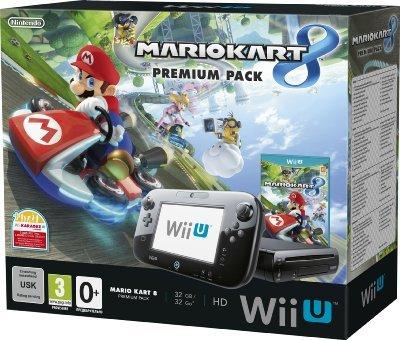 Nintendo Wii U 32GB Premium Pack with Mario Kart 8 - £209 @ Amazon