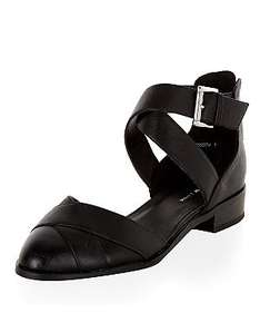 Black Multi Strap Shoes £4 plus £3.99 delivery (free C&C on £19.99 spend) @ New Look