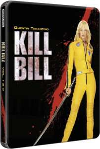 Kill Bill: Volumes 1 and 2 - Exclusive Limited Edition Steelbook Blu-Ray £8.99 @ Zavvi