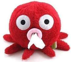 niceeshop(TM) Stylish Carton Short Plush Octopus Shape Napkin/Tissue Box/Holder-Redr - SO CUTE £2.98 Sold by Cosy-Zone and Fulfilled by Amazon.