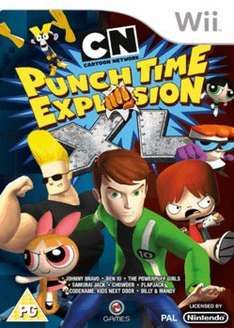 Cartoon Network: Punch Time Explosion XL (Wii) only £2.00 delivered @ GAME