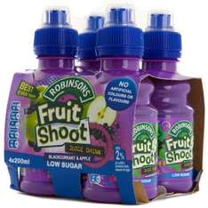 4 pack fruit shoot 94p @Tesco