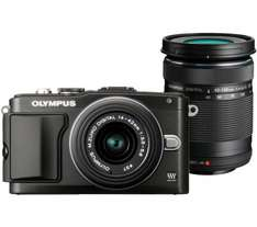 Olympus PEN E-PL5 with 14-42 mm + 40-150 mm II R Lens - £339 @ Currys