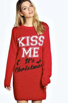 Boohoo Christmas Jumper Dress  £5.00 delivered
