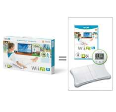 Wii Fit U With Fit Meter & Balance Board WII U £39.99 in store @ Smyths