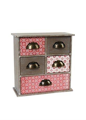 5 drawer printed chest @ matalan £6.00