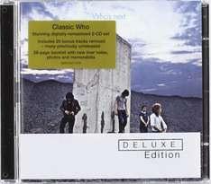 The Who - Who's Next (2CD Deluxe Edition) includes MP3 £6.99 @ Amazon (free delivery £10 spend/prime)