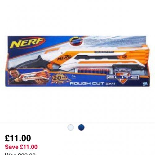 Nerf n strike elite £11 at boots