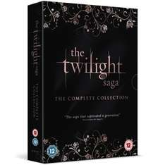 The Twilight Saga: The Complete Collection (5 DVDs) £11.31 from Zoverstocks/Play.com