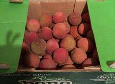 Fresh Lychees only £2.99 / kilo @ Lidl