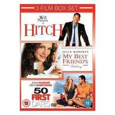 50 First Dates / Hitch / My Best Friends Wedding (3 disc boxset) only £1.56  (used) @ Play / Zoverstocks