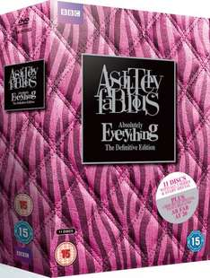 Absolutely Fabulous Absolutely Everything DVD box set £17.99 at BBC Shop